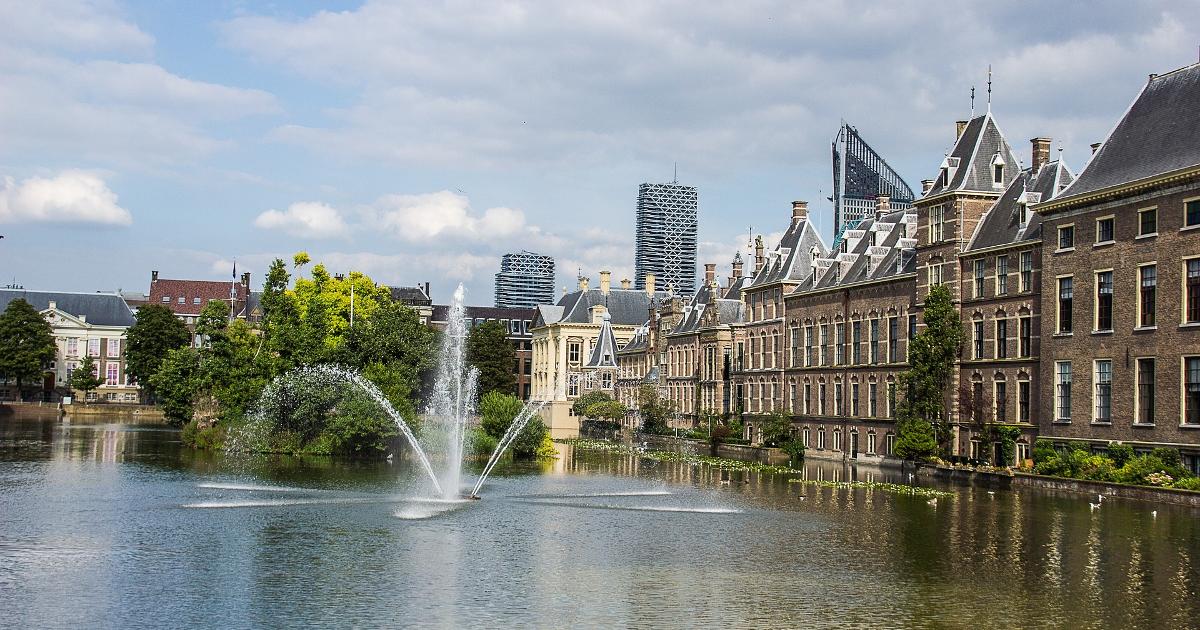 Stad met water: Winkels voor motorrijders in Den Haag