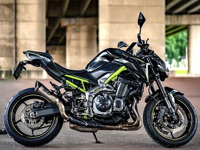 2018 Kawasaki Z900 motor te huur (1)