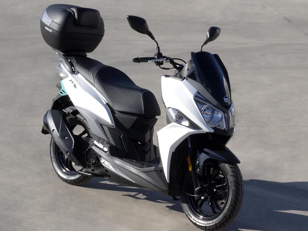 Sym Jet 14 moto en alquiler (1)