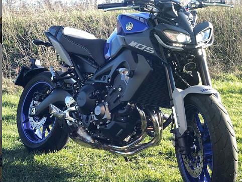 2021 Yamaha MT 09 motor te huur (1)