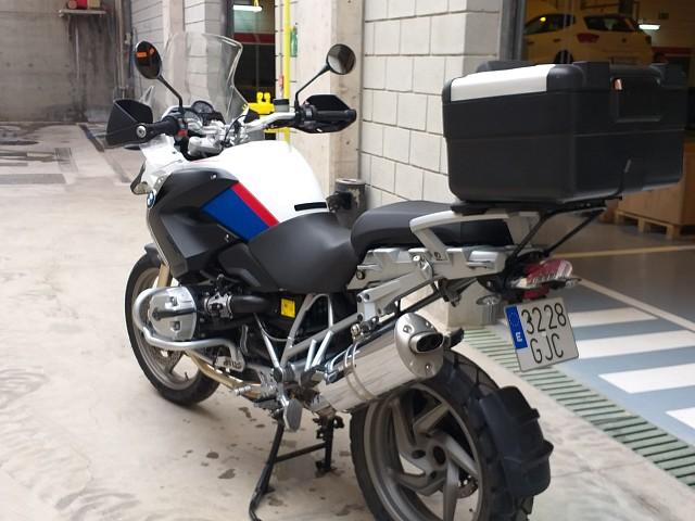 2009 BMW R 1200 GS moto en alquiler (3)