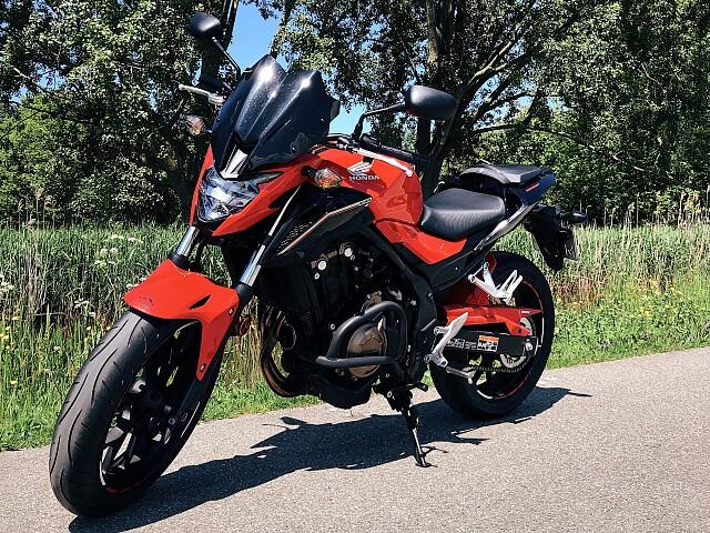 2017 Honda CB 500 F motor te huur (1)