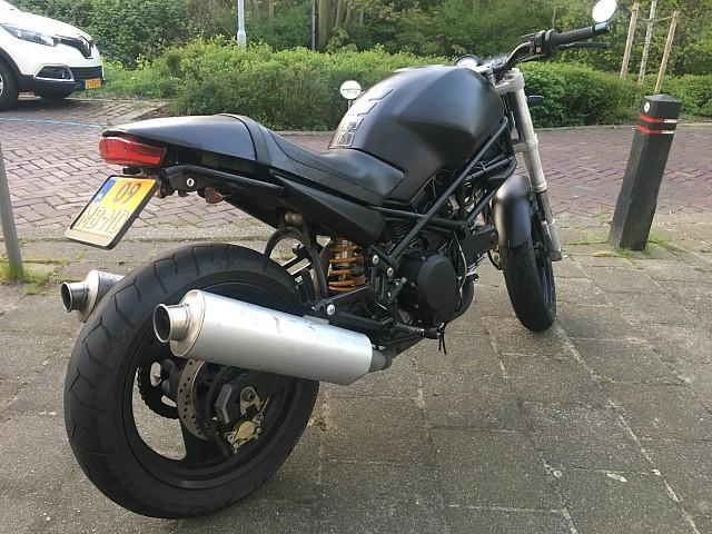 1999 Ducati Monster 600 motor te huur (3)