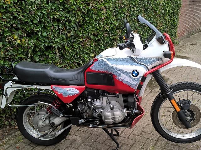 1994 BMW GS 100 Paris-Dakar motor te huur (2)