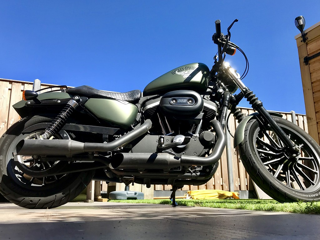 2012 HARLEY-DAVIDSON Iron 883 motor te huur (1)
