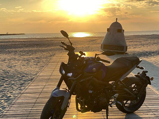 2021 Yamaha MT 09 motor te huur (4)