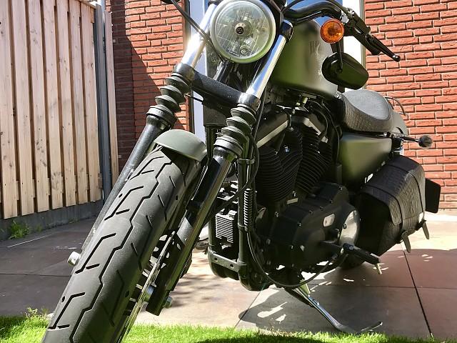 2012 HARLEY-DAVIDSON Iron 883 motor te huur (2)