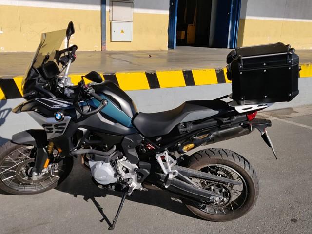 2018 BMW F 850 GS moto en alquiler (2)