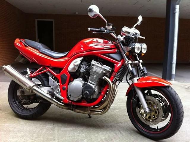 1996 Suzuki GSF 600 Bandit motor te huur (1)
