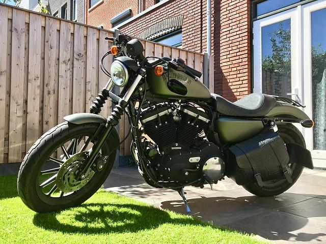 2012 HARLEY-DAVIDSON Iron 883 motor te huur (3)