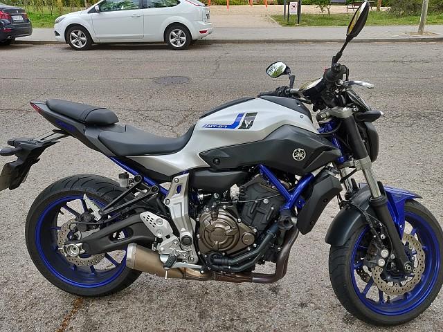 2016 Yamaha MT 07 moto en alquiler (3)