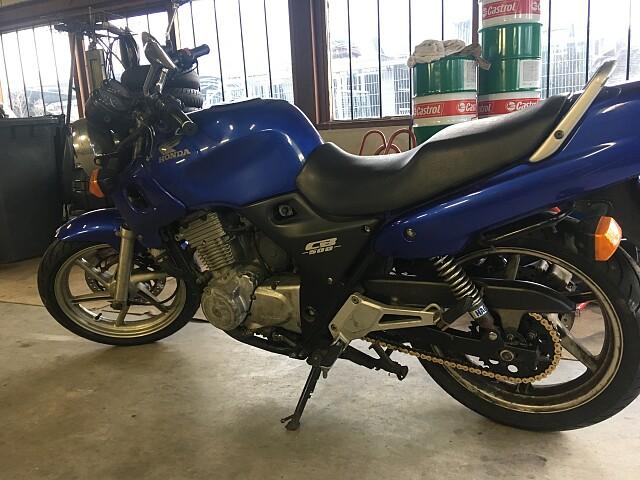 2002 Honda CB 500 motor te huur (3)