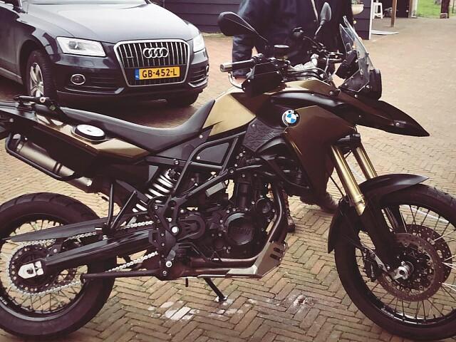 2014 BMW F 800 GS motor te huur (2)