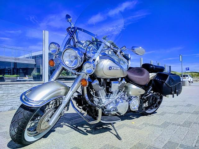 2002 Yamaha Wildstar 1600 motor te huur (5)