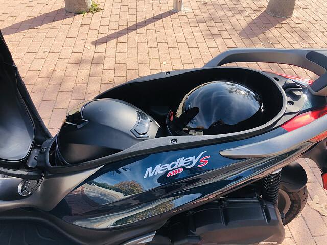 2018 Piaggio Medley S moto en alquiler (5)