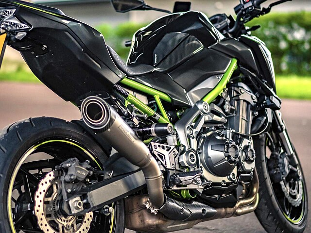 2018 Kawasaki Z900 motor te huur (2)