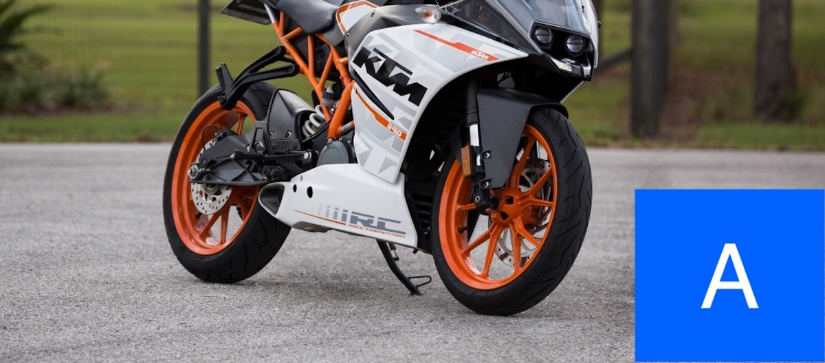 KTM motor: Je motorrijbewijs A halen