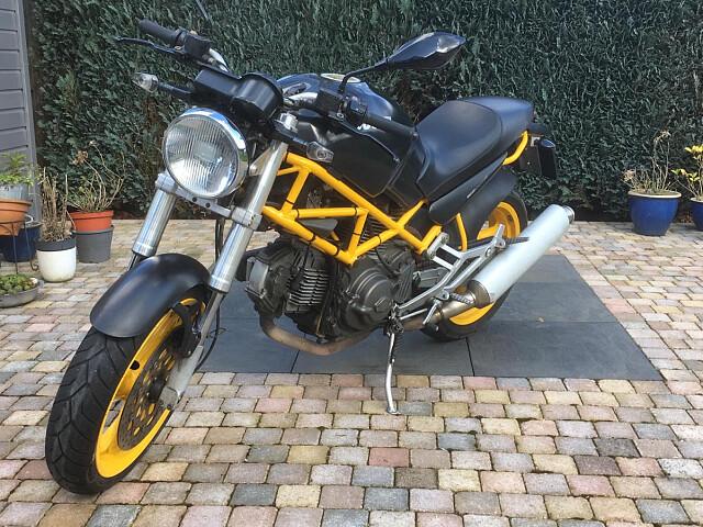 1998 Ducati M 600 Dark motor te huur (1)